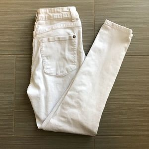 White Knee Ripped Cotton On Jeans